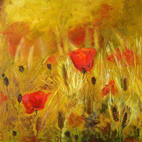 Виставка живопису Надії Теплякової «Врожайний рік»